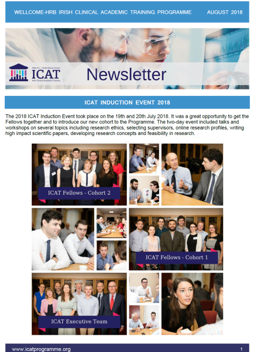 Aug newsletter front page 2